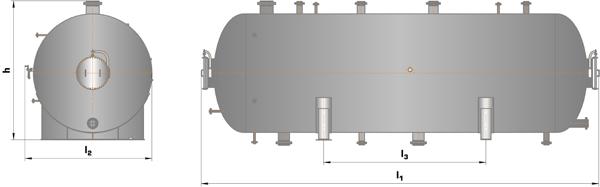 Сепаратор трехфазный ТФСК-Г